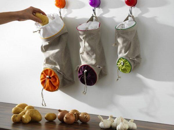 Самодельные органайзеры для необходимых продуктов