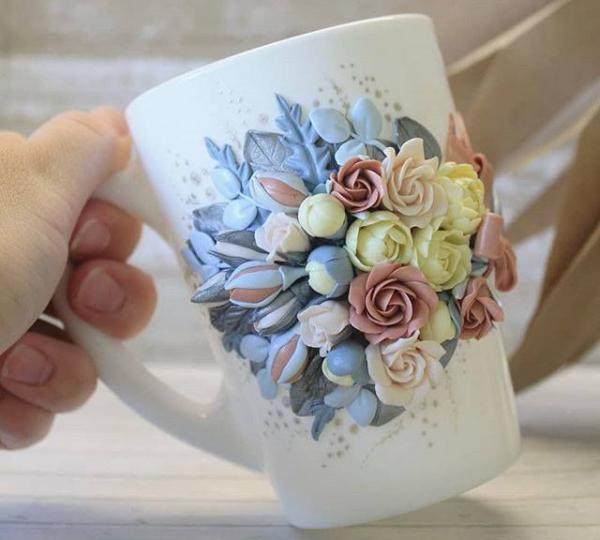 Красивый декор цветами