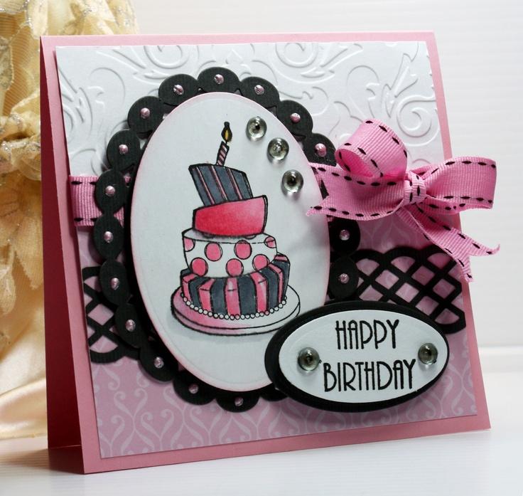 Картинки открыток на день рождения своими руками девочке