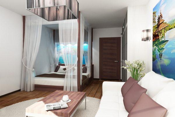 Декоративное украшение кровати