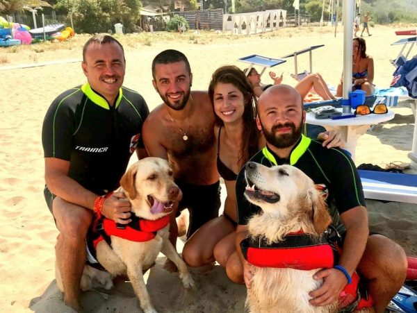 собаки-спасатели в Италии