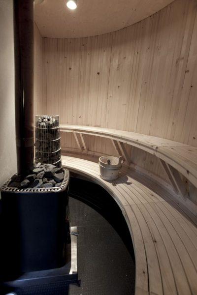 Полукруглая баня
