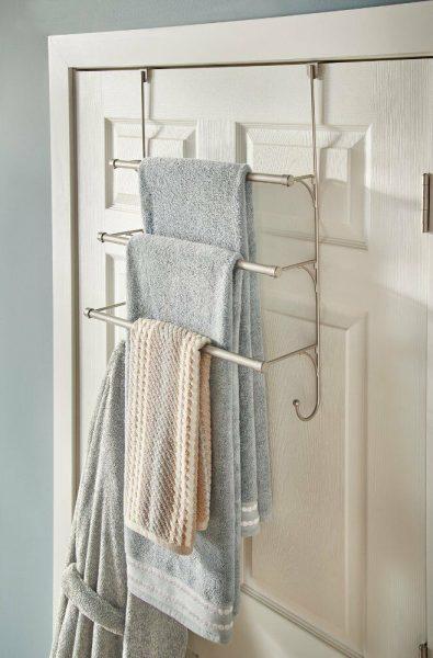 Вешалка для полотенец на дверь