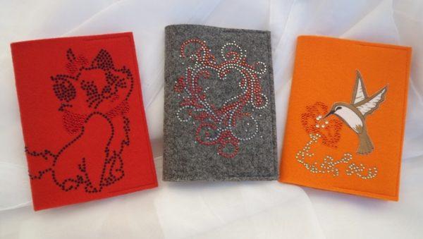 Обложки для паспорта из фетра