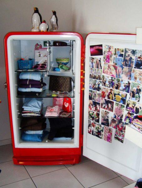 Шкаф для хранения вещей из холодильника