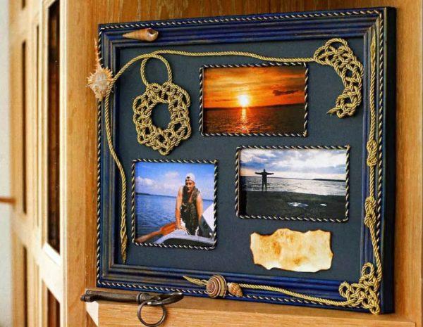 Фотографии на рамке