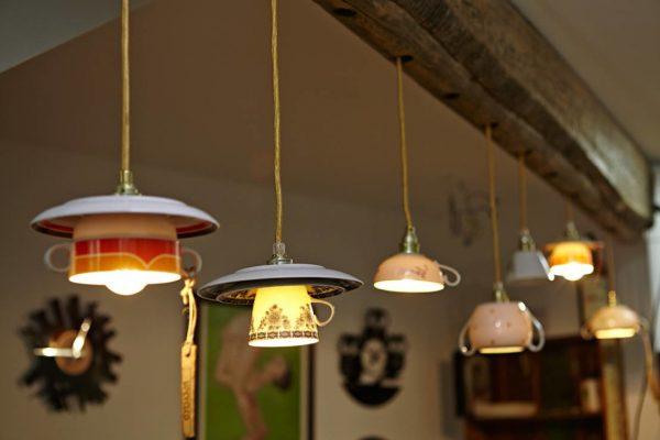 Подсветка из оригинальных светильников