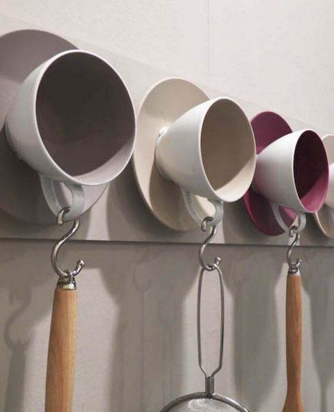 Чашечки с крючочками