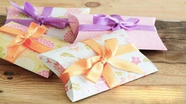 Подарочные конвертики из обоев