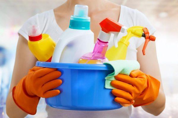Бытовые средства для уборки