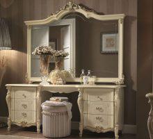 43 красивых туалетных столика с зеркалом в спальню