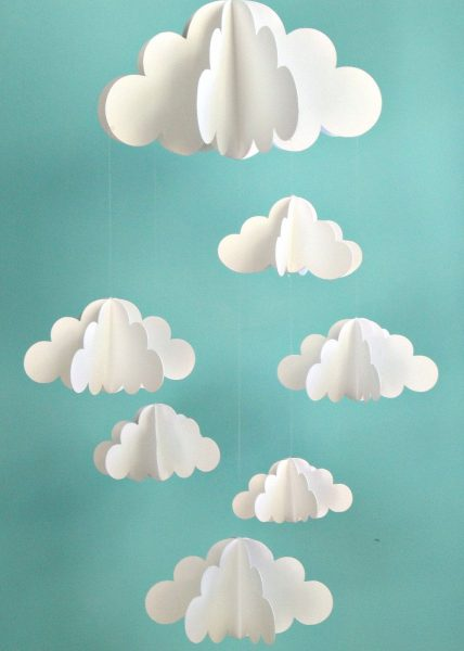 Гирлянда с облаками