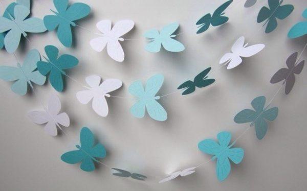 Гирлянда с бабочками