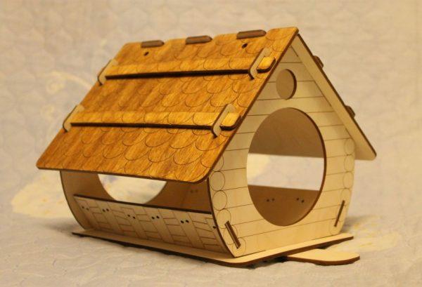 Пузатый домик