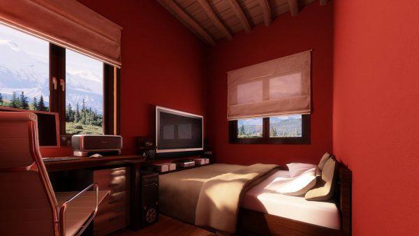 какие цвета обоев визуально расширяют комнату