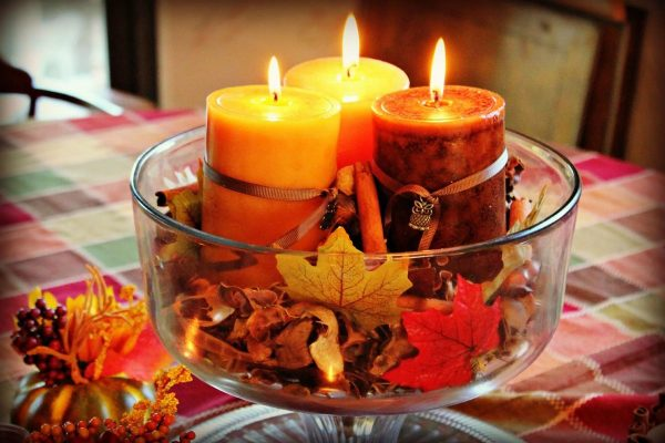 Осенние свечи