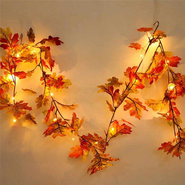 Осенняя светящаяся гирлянда