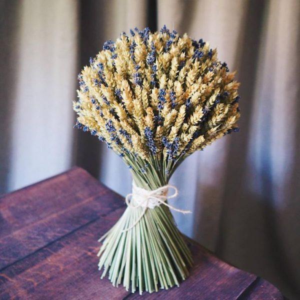 Пшеница и лаванда
