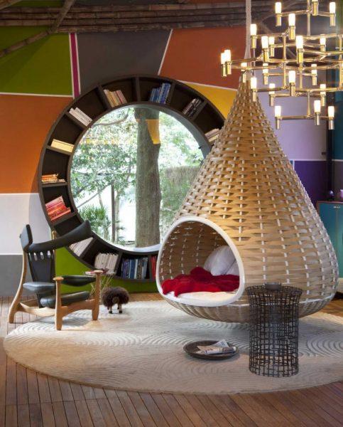 Уютное кресло-гнездо