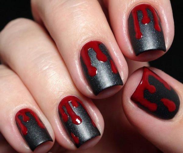 Кровь на ногтях