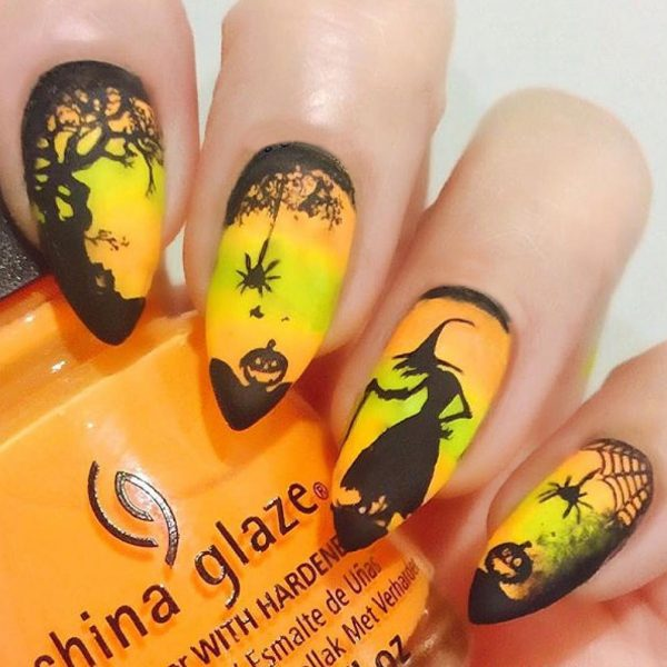 Ведьма на ногтях