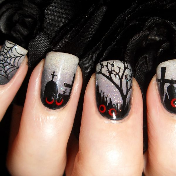 Кладбише но ногтях