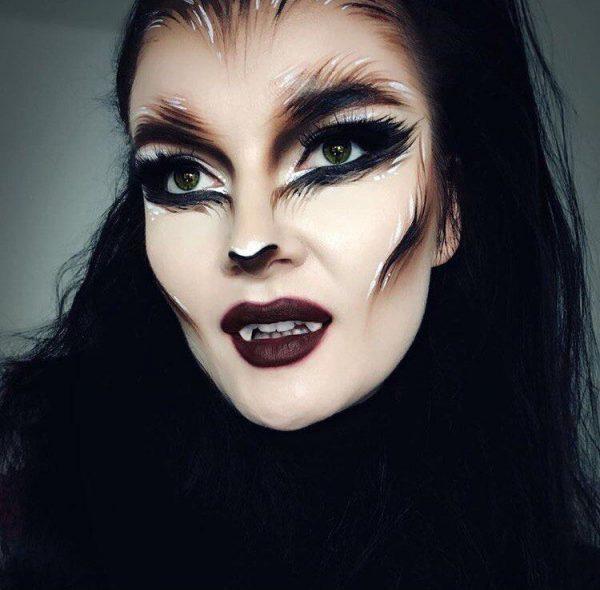 Красивый макияж Оборотня