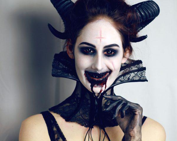 Рогатый демон