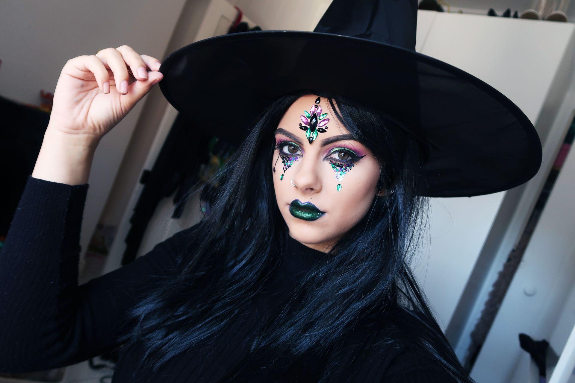 хэллоуин ведьма макияж фото все