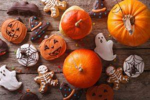 Угощение на Хэллоуин