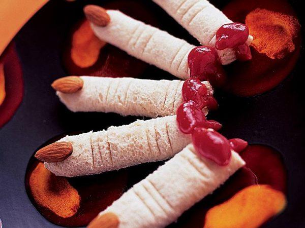 Ведьмины пальцы из хлеба