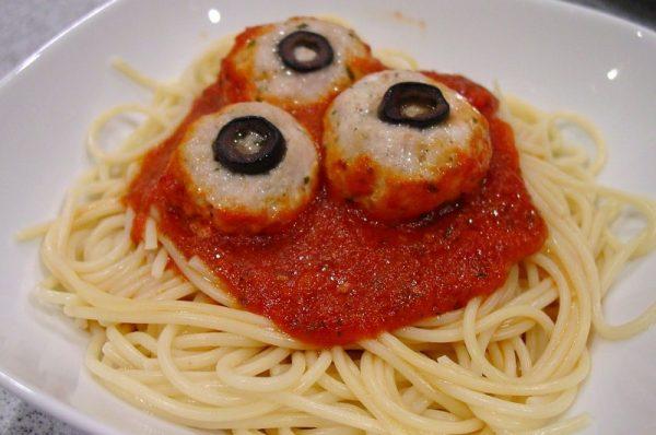 Тефтели и спагетти