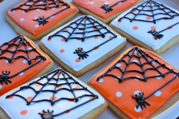 Печенье с пауками