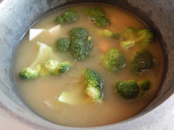 Суп-пюре из брокколи шаг 3