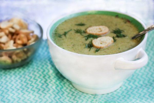 Суп-пюре из брокколи шаг 5