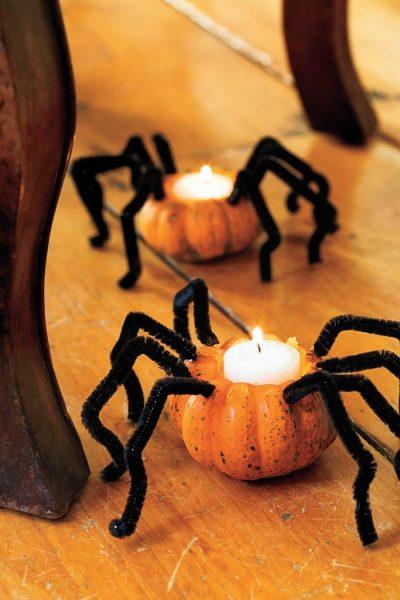 Подсвечники-пауки