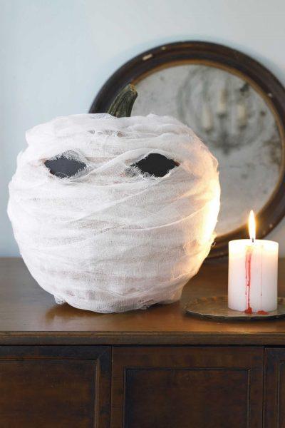 Привидение из тыквы