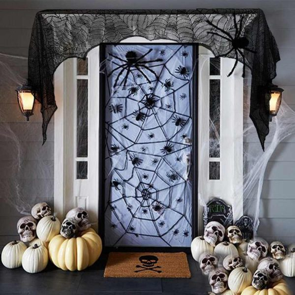 Ткань на двери с тематическим рисунком