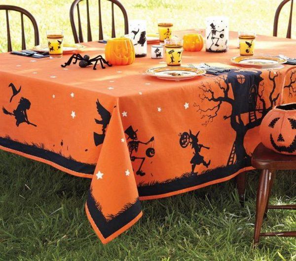 Скатерть на стол к Хэллоуину