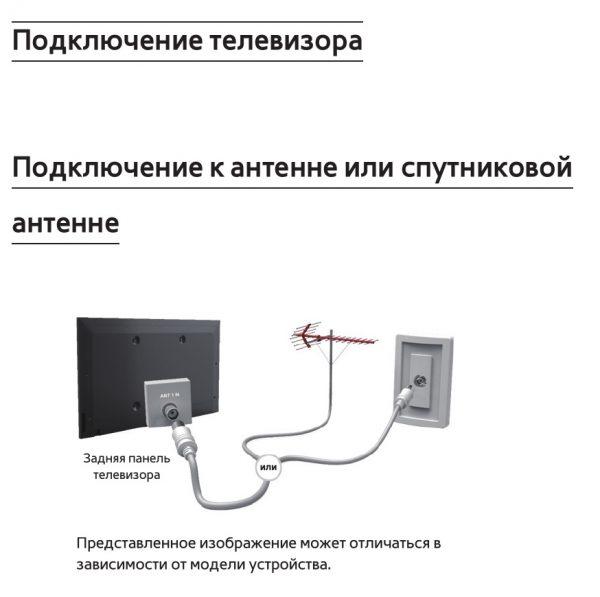 подключение антенны шаг 2