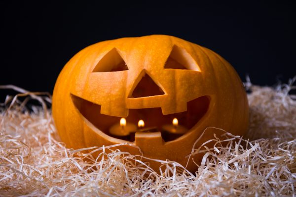 Тыква к Хэллоуину