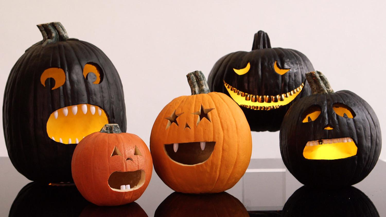 Тыква для хэллоуина своими руками картинка