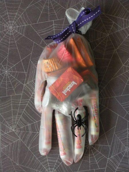 Медицинская перчатка в качестве упаковки