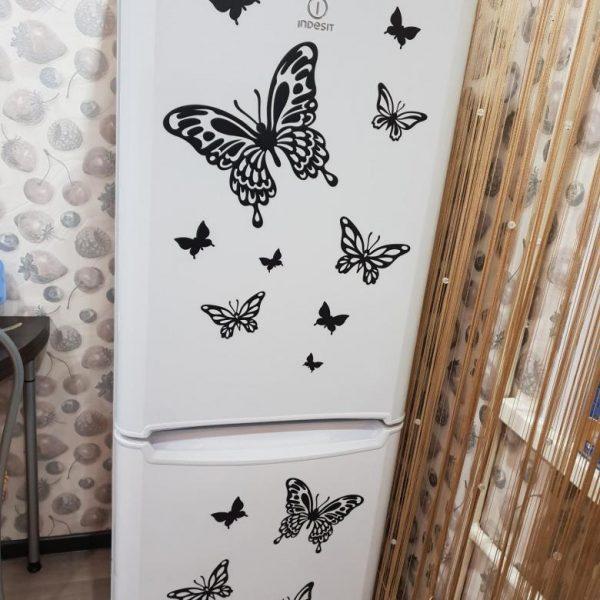 Виниловые бабочки