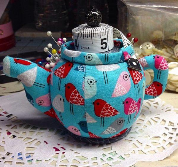 Чайник из ткани