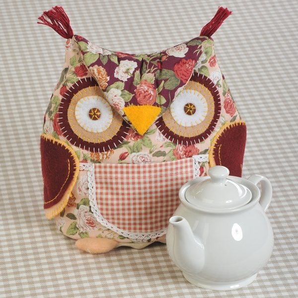 Грелка на чайник в виде совы