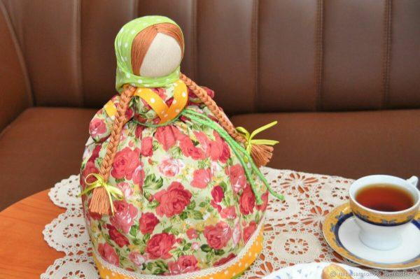 Грелка в виде куклы