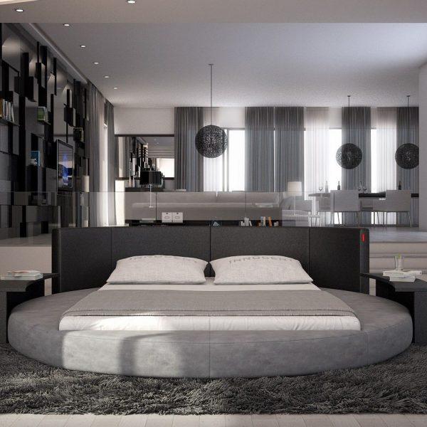 Компромиссная круглая кровать