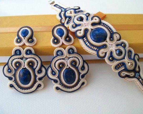 Сине-белый комплект